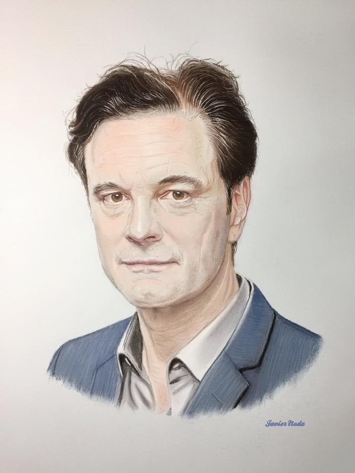 Colin Firth par JavierNoda